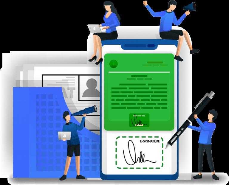 Podpis elektroniczny w obiegu dokumentów