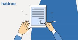 Podpis elektroniczny na tablecie