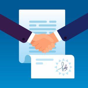Podpisanie umowy online przez dwie strony